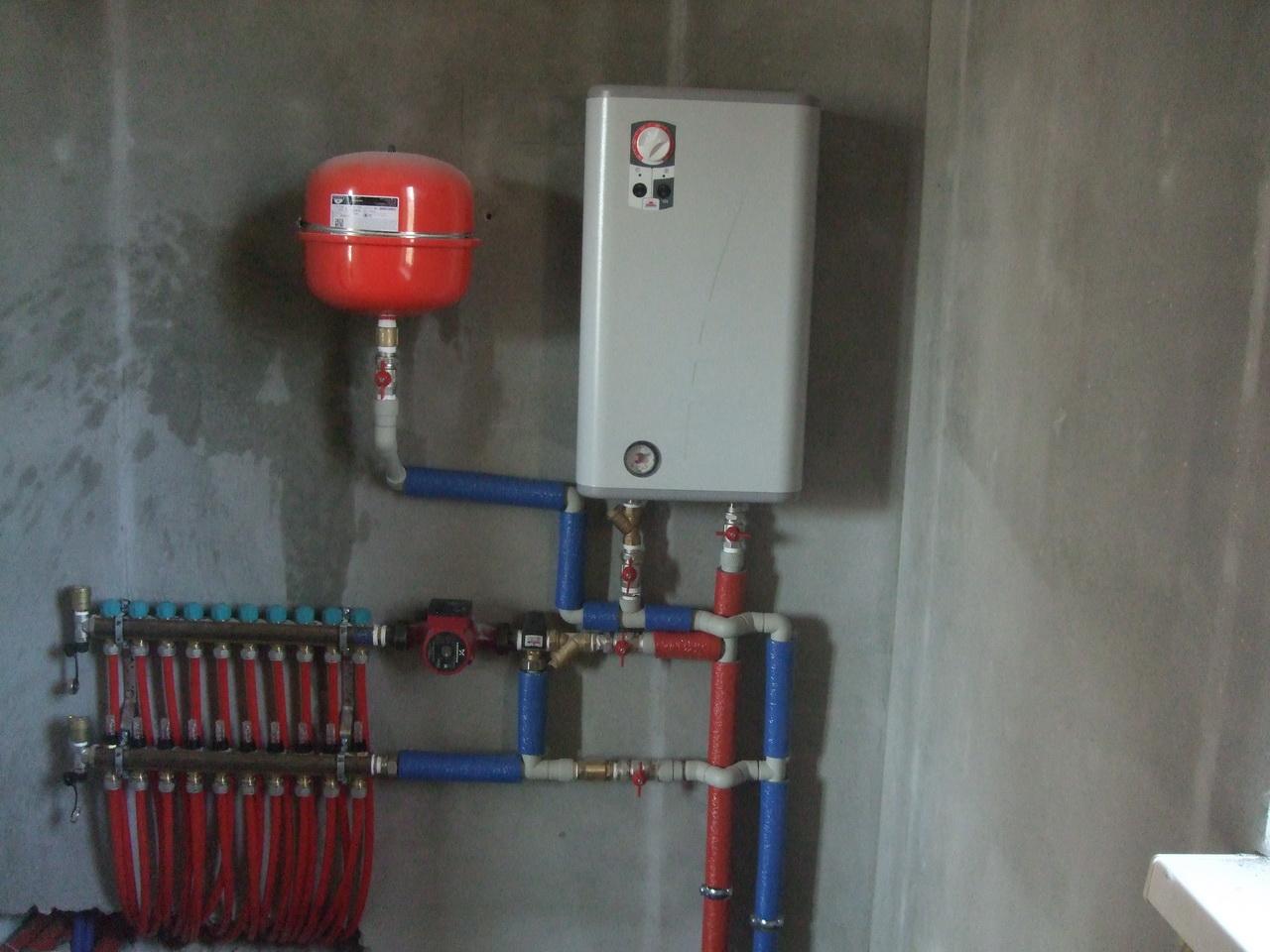 Электрокотел для теплого водяного пола своими руками 40